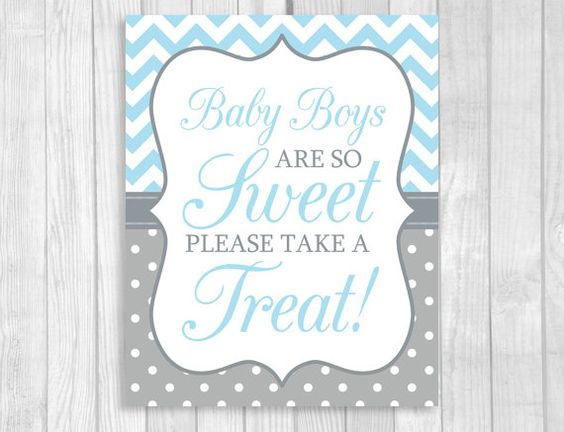 Candy Sweet Buffet Printable Babies Are