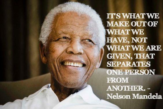 Rip Nelson Mandela Quote