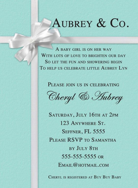 Baby Shower Invitations Roses