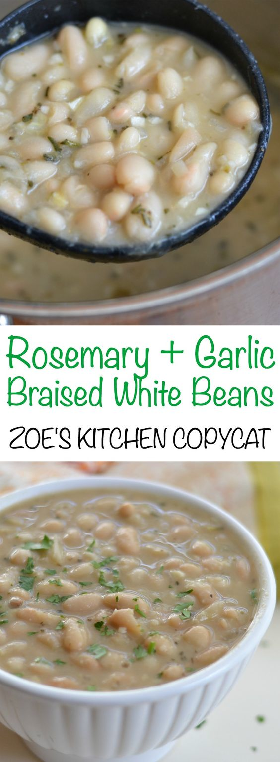 White Beans Zoes Kitchen