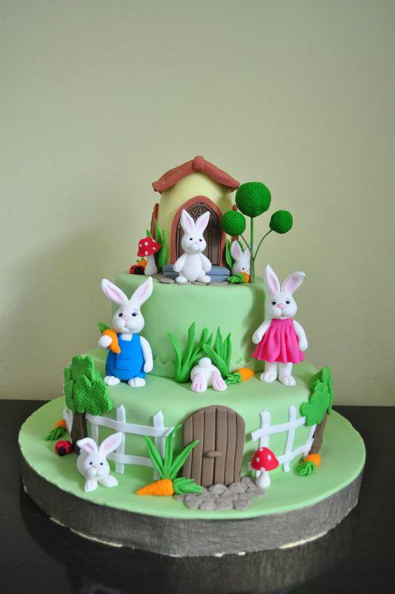 Easter Cakes Rabbit