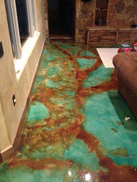 Acid Washed Floors Concrete