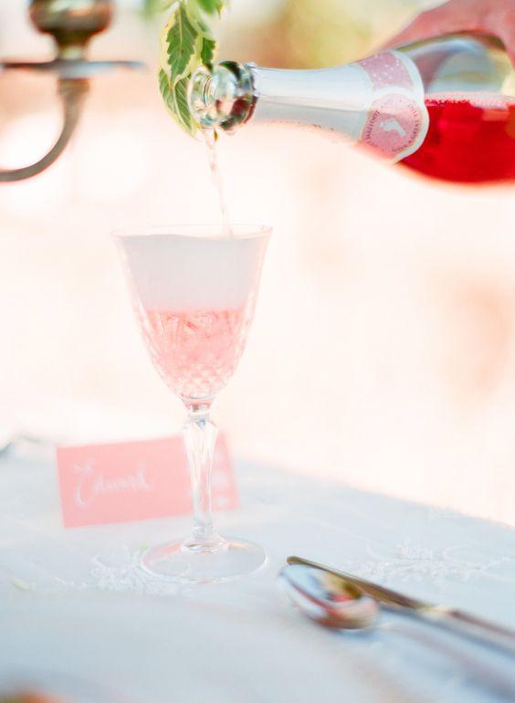 Pink Wedding Bubbles
