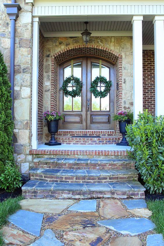 Front Door Urn Planters