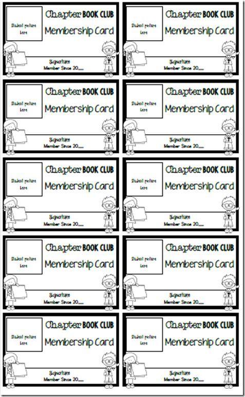 Printable Membership Cards