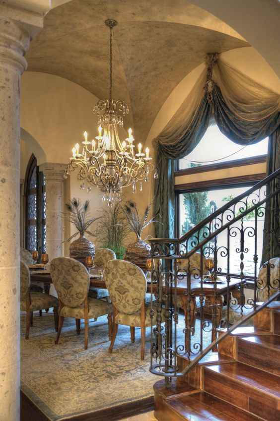 Tuscany Dining Room Chandelier