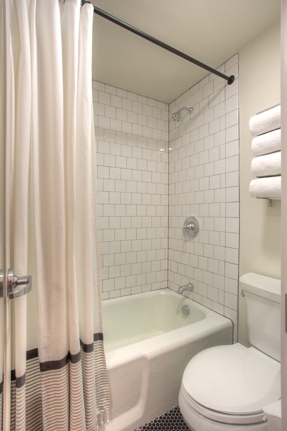 Shower 6 X 6 White Tile