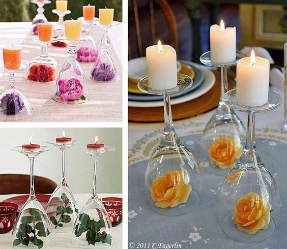 Quick And Easy Wedding Table Decorations