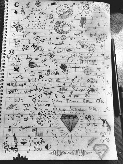Note Music Note Sketches