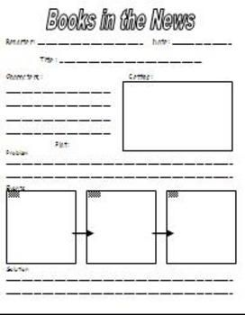 Book Report Outline For First Grade Free Graphic