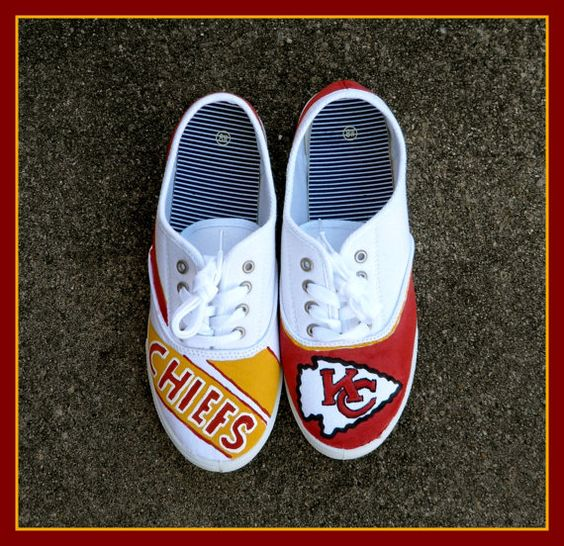 Kc Chiefs Nike Shoes