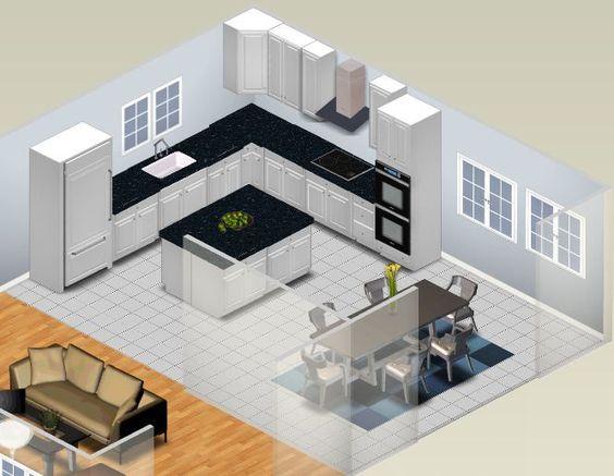 Planner Floor Kitchen Online