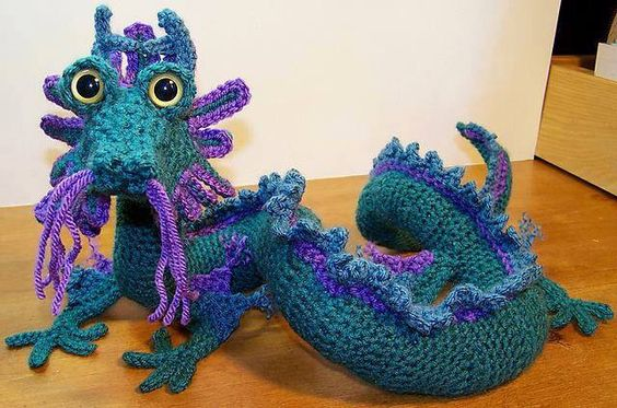 Free Dragon Crochet Pattern Images Knitting Patterns Free Download