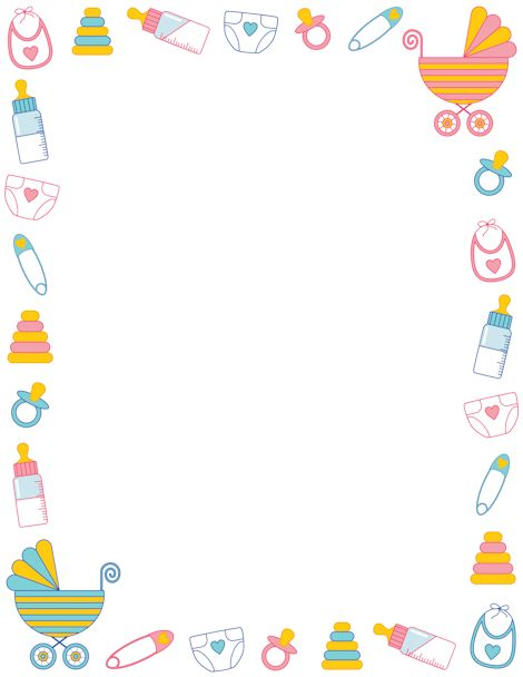 Baby Doll Diaper Template