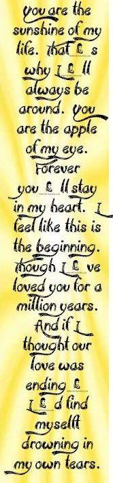 You Are Love My Life Lyrics