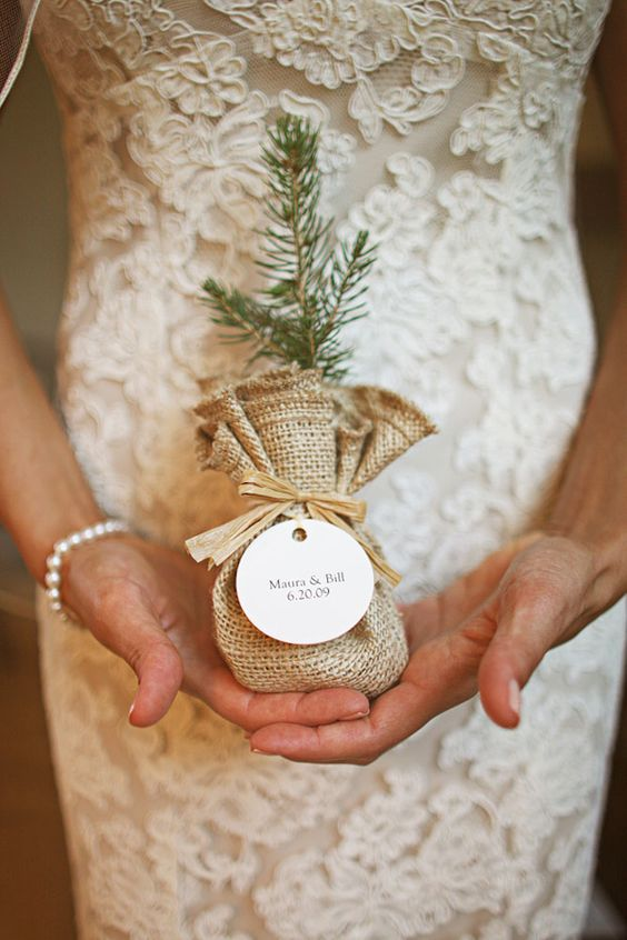 Wedding Favors Tree Seedling