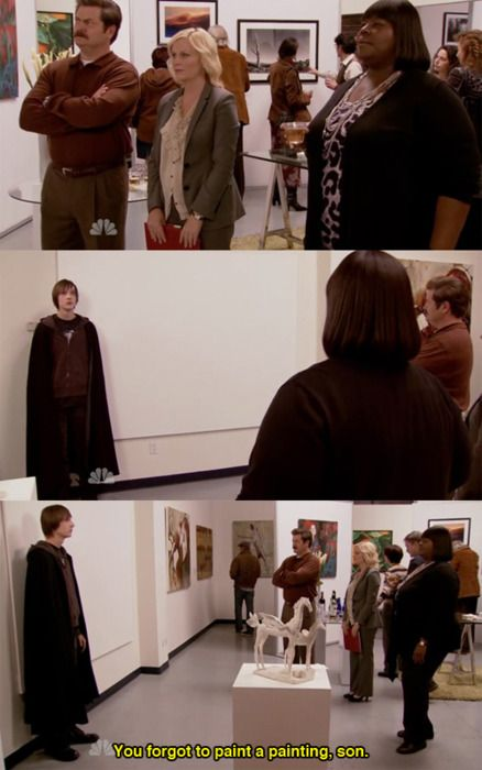 Andy Painting And Parks Rec
