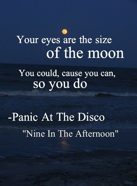 Panic Disco Songfacts