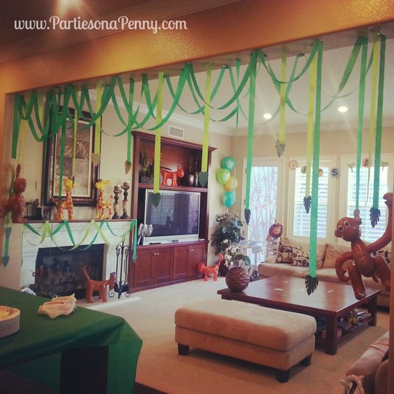 Streamers Decorating Ideas Party Parties