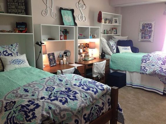 Things You NEED For College   Dorm Room Essentials   Lures And Lace College Dorm Room Bedding   Decorating Your Dorm