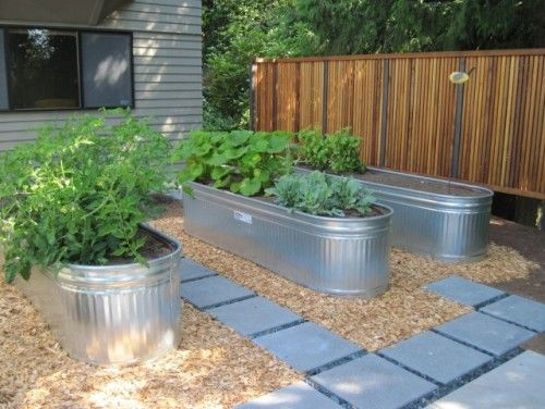 Galvanized Raised Garden