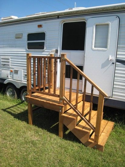 Steps Camper Porch Truck And
