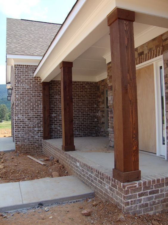 Metal Porch Columns