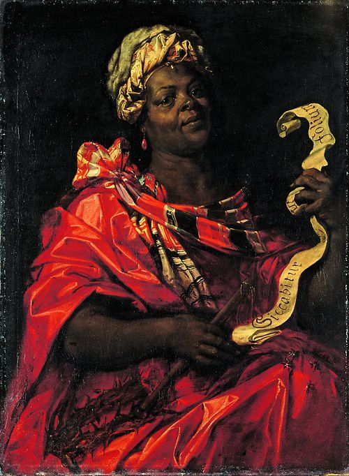 People European Paintings Black