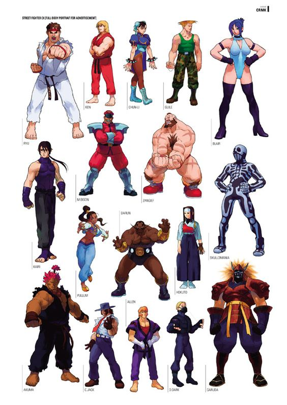 [April fools] Arika's Street Fighter EX characters return ...