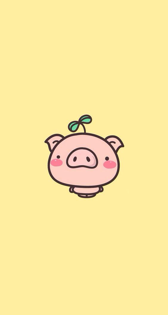 Cute Cartoon Pigs Wings