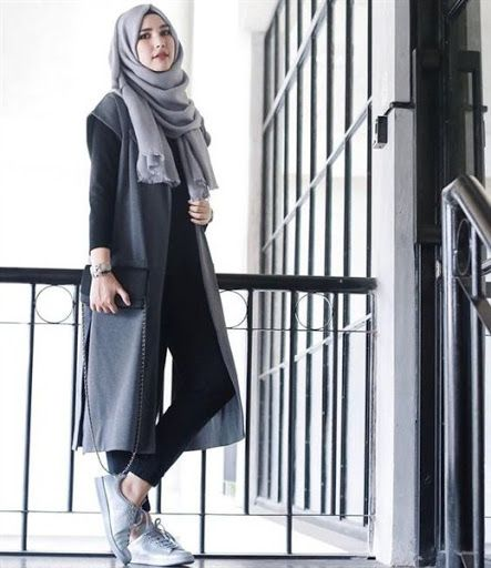 Image Result For Model Lengan Gamis Polos