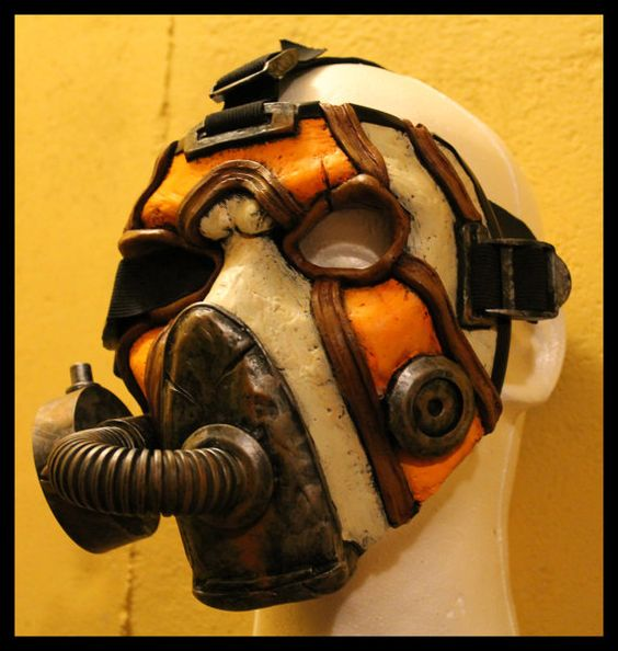 Masks Borderlands 2 Zero