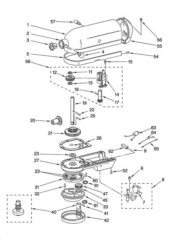 Kitchenaid Stand Mixer Parts K5ss