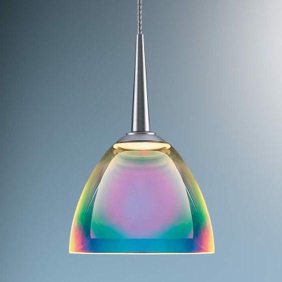Multi Colored Pendant Lights