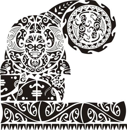 Plantillas Tatuajes De Brazaletes Maori