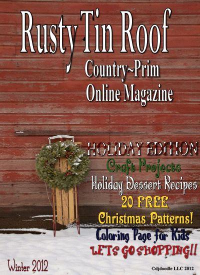 Free Primitive Home Decor Magazines