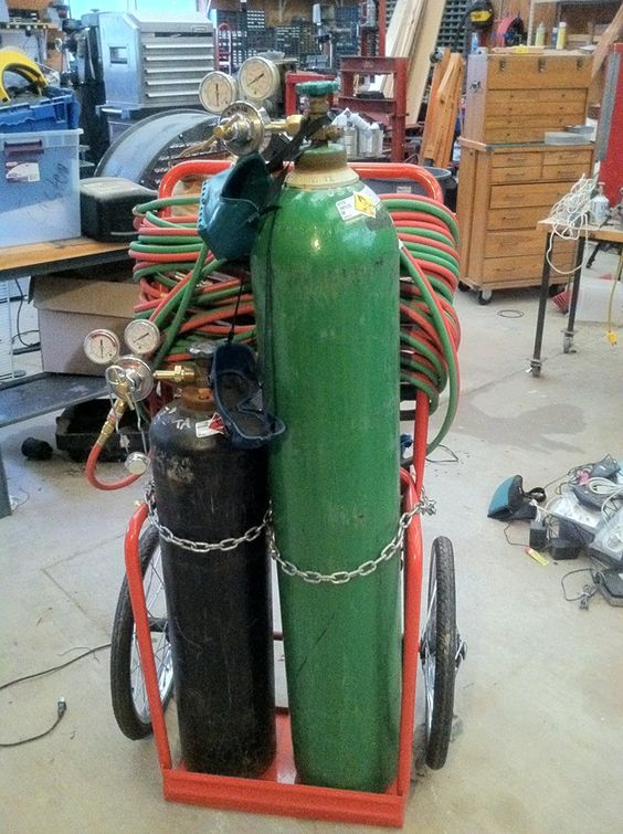Oxy Acetylene Welding Projects