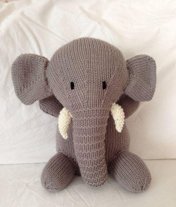 Knit Stuffed Animals Cool