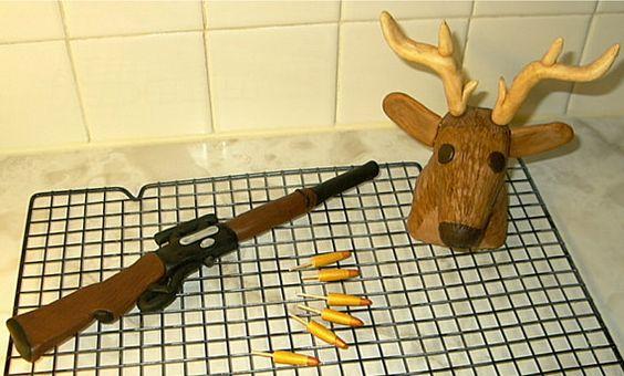Fondant Deer Cake Topper Set Konopaseks Krazy Cakes