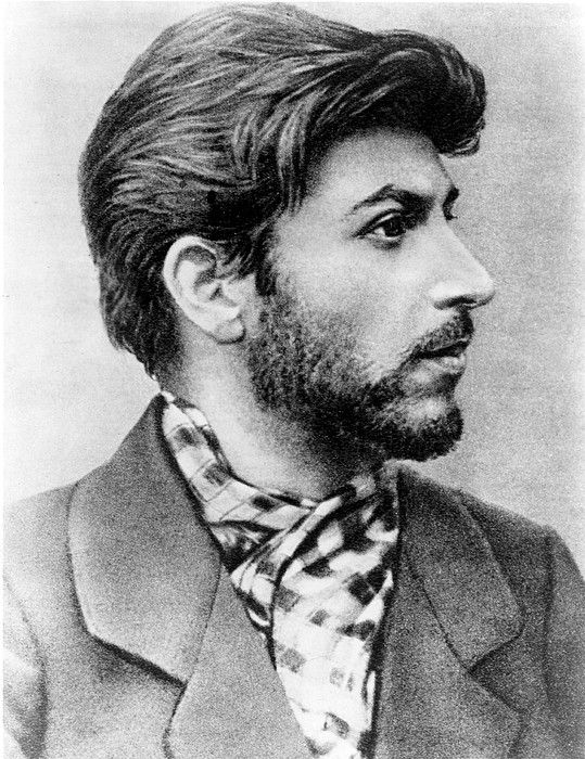 Josef Stalin as a young revolutionary in 1900. I find this ...
