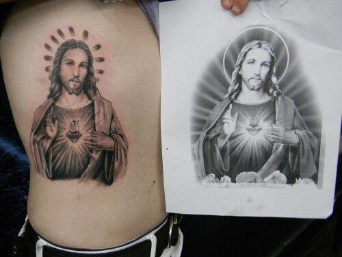 De Corazon Jesus Sagrado Tattoo