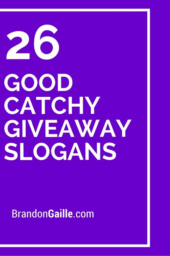 H Slogan 4 Catchy Ideas
