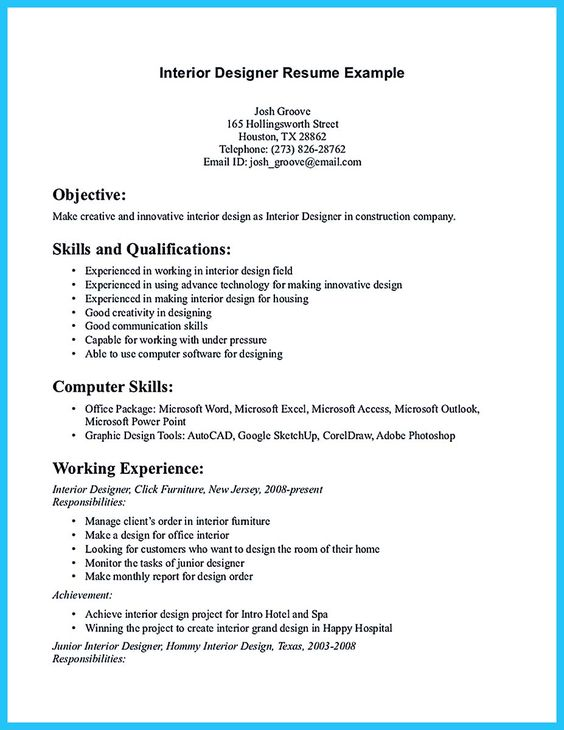 Interior Decorator Career