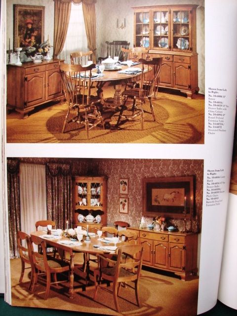 Early American Dining Room Furniture