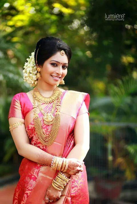 Kerala Hindu Bridal Hairstyle