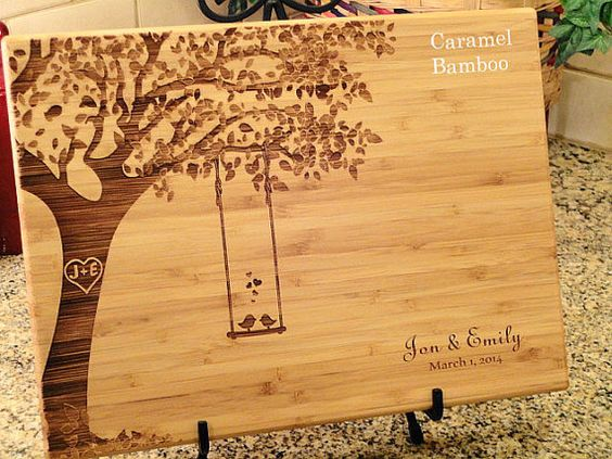 Cutting Christmas Personalized Board Win