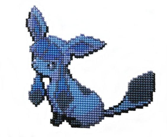 Art Grid Pixel Minecraft Eevee