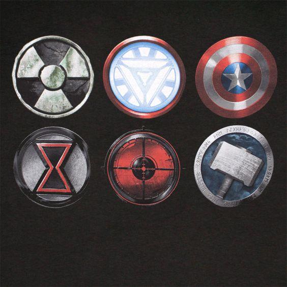 Black Widow The Avenger S S Logo Symbols