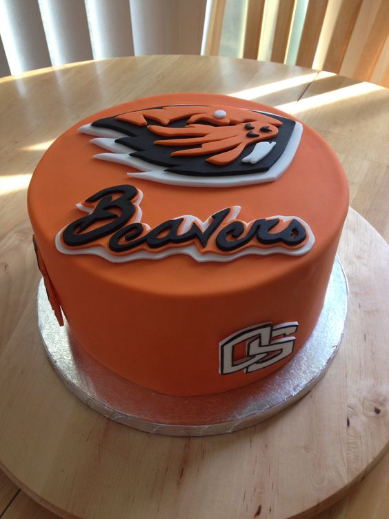 Oregon State University Beaver Cake My Cakes Pinterest