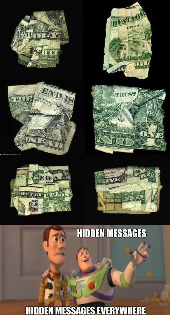Illuminati Messages Money